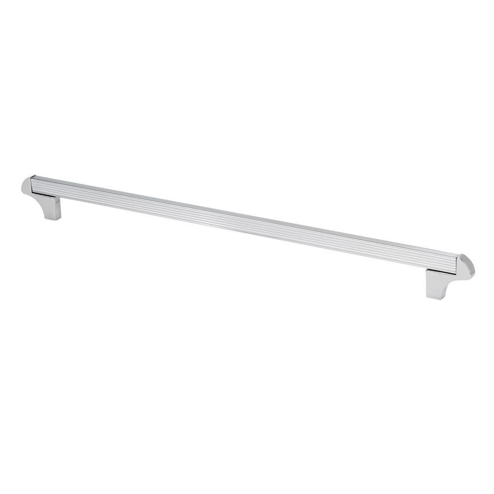 TOPEX Italian Designs Collection 14.5 In. Chrome Square Cabinet Pull
