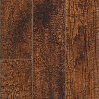 XP Hand Sawn Oak 10 mm Thick x 4-7/8 in. Wide x 47-7/8 in. Length Laminate Flooring (13.1 sq. ft. / case)