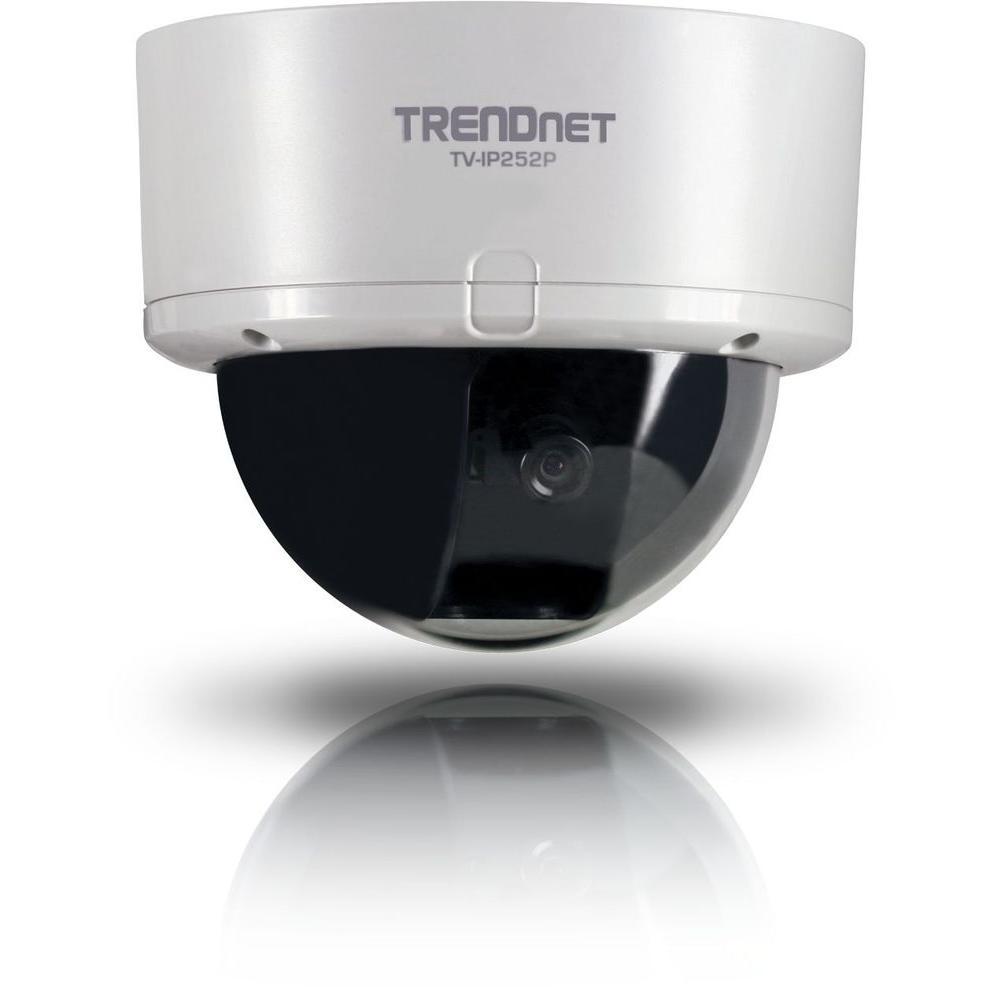 TRENDnet 640 TVL Indoor CMOS IP Dome Shaped Indoor Surveillance Camera-DISCONTINUED