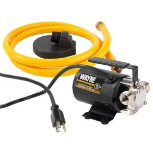 Wayne 1/10 HP Portable Transfer Utility Pump by Wayne