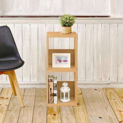 Duo Eco zBoard Tool Free Assembly Natural Open Bookcase