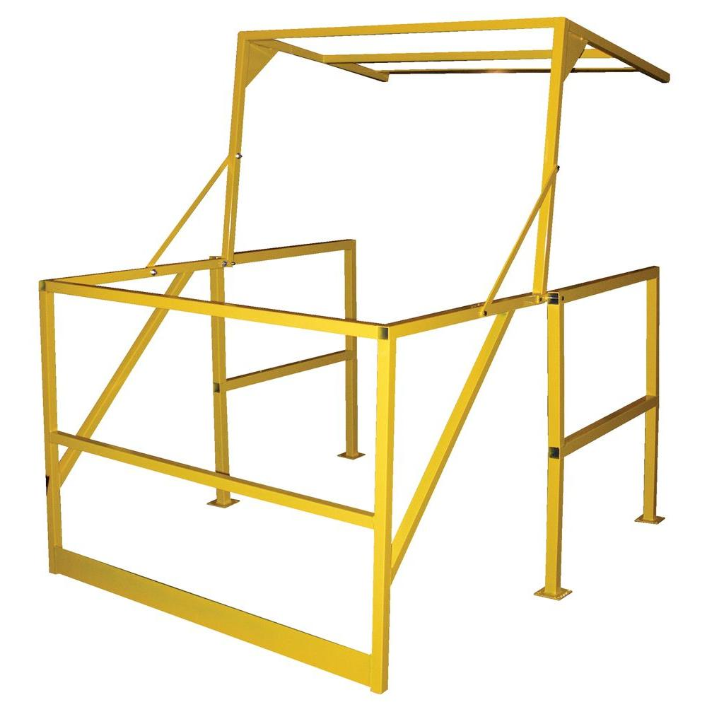 Vestil 42 in. Square Steel Mezzanine Safety Gate