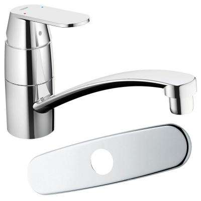Eurosmart Cosmopolitan Kitchen Swivel Spout in Starlight Chrome