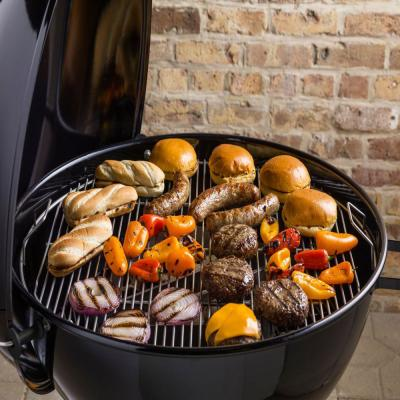 Weber 26 in. Original Kettle Premium Charcoal Grill in Black with Built-In Thermometer