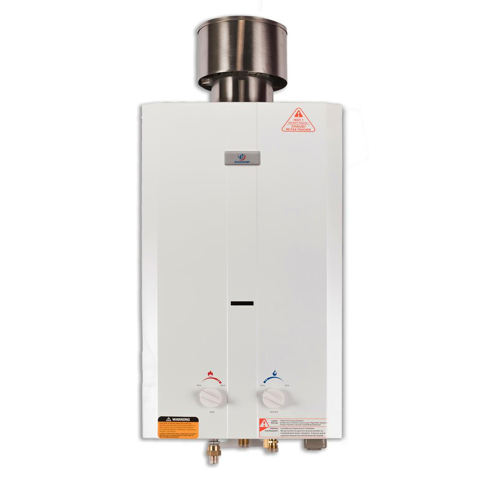 Eccotemp L10 30 Gpm Portable 75000 Btu Liquid Propane How To Change The Temperature On Your Electric Water Heater Outdoor Tankless