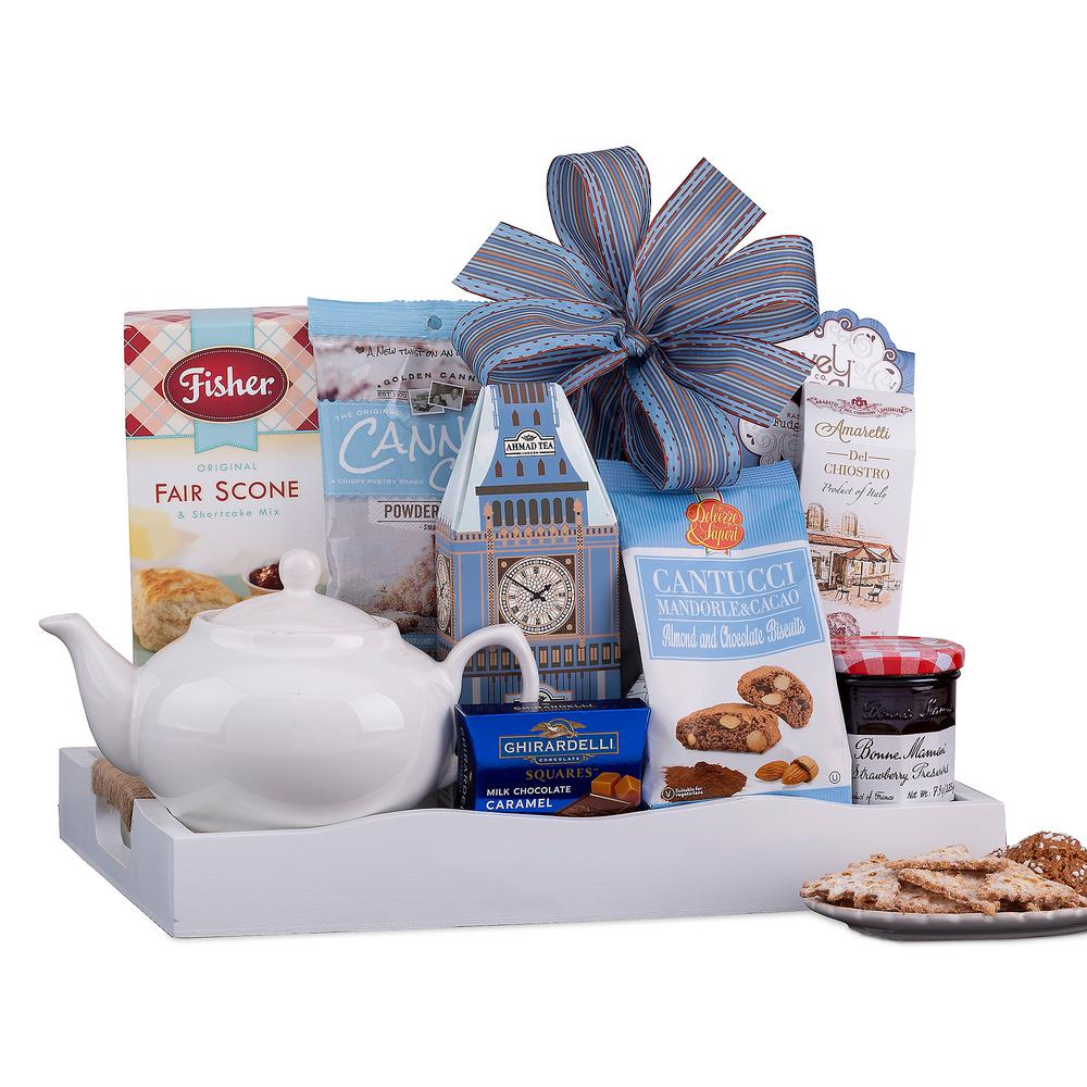 Wine Country Gift Baskets Holiday Tea and Breakfast Collection Gift Tray-626 - The Home Depot  sc 1 st  The Home Depot & Wine Country Gift Baskets Holiday Tea and Breakfast Collection Gift ...