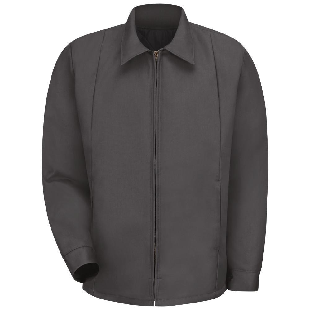 Men's Medium (Tall) Charcoal Perma-Lined Panel Jacket
