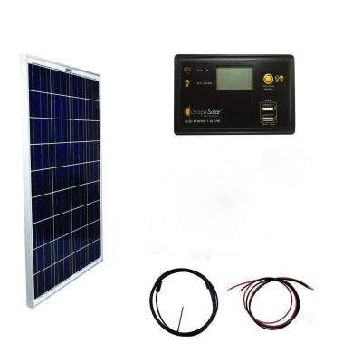 100-Watt Basic Off-Grid Polycrystalline Silicon Panel Kit