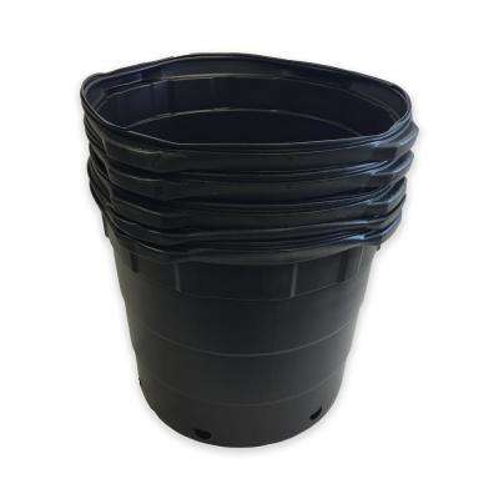 10 Gal. Round Nursery Pots (37.85 L / 1.33 cu. ft.) 5-pack