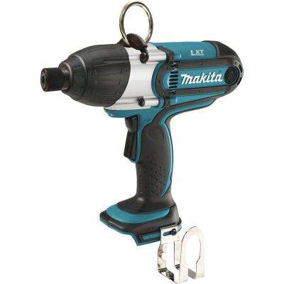 18-Volt LXT Lithium-Ion 7/16 in. Hex Cordless Quick Change High Torque Impact Wrench (Tool-Only)
