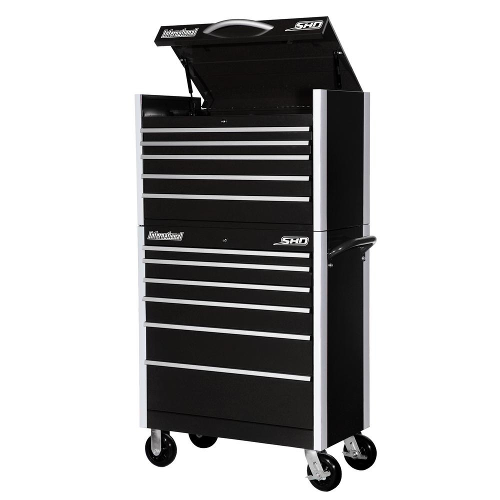 SHD Series 35 in. 11-Drawer Tool Chest and Cabinet Combo in