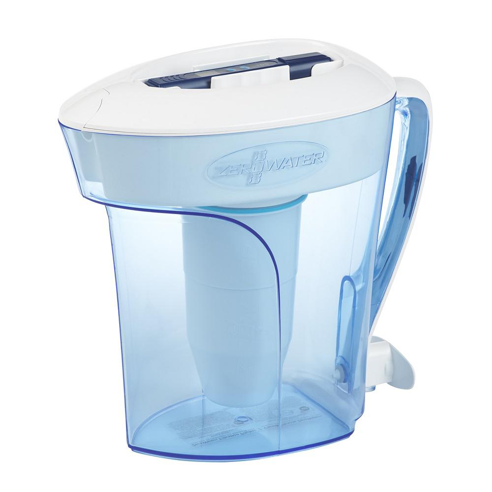 Zero Water ZP-010 10-Cup Water Filter Pitcher-ZP-010 - The Home Depot