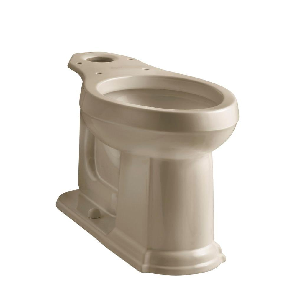 KOHLER Devonshire Elongated Toilet Bowl Only in Mexican Sand
