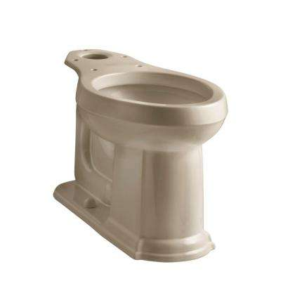 Devonshire Elongated Toilet Bowl Only in Mexican Sand