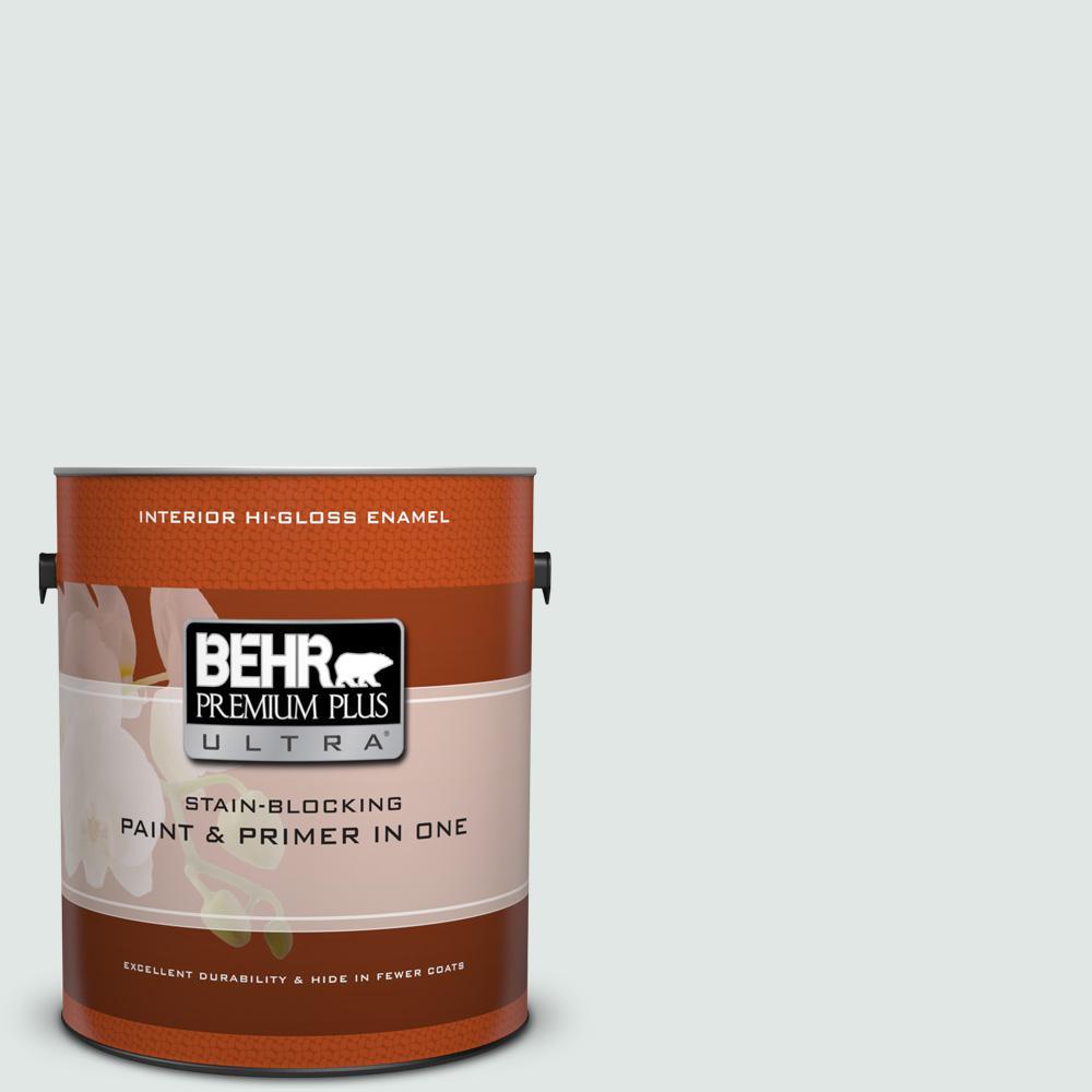 1 gal. #490E-1 Glimmer Hi-Gloss Enamel Interior Paint