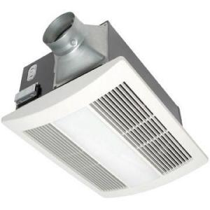 Panasonic WhisperWarm 110 CFM Ceiling Exhaust Bath Fan with Light and Heater by Panasonic