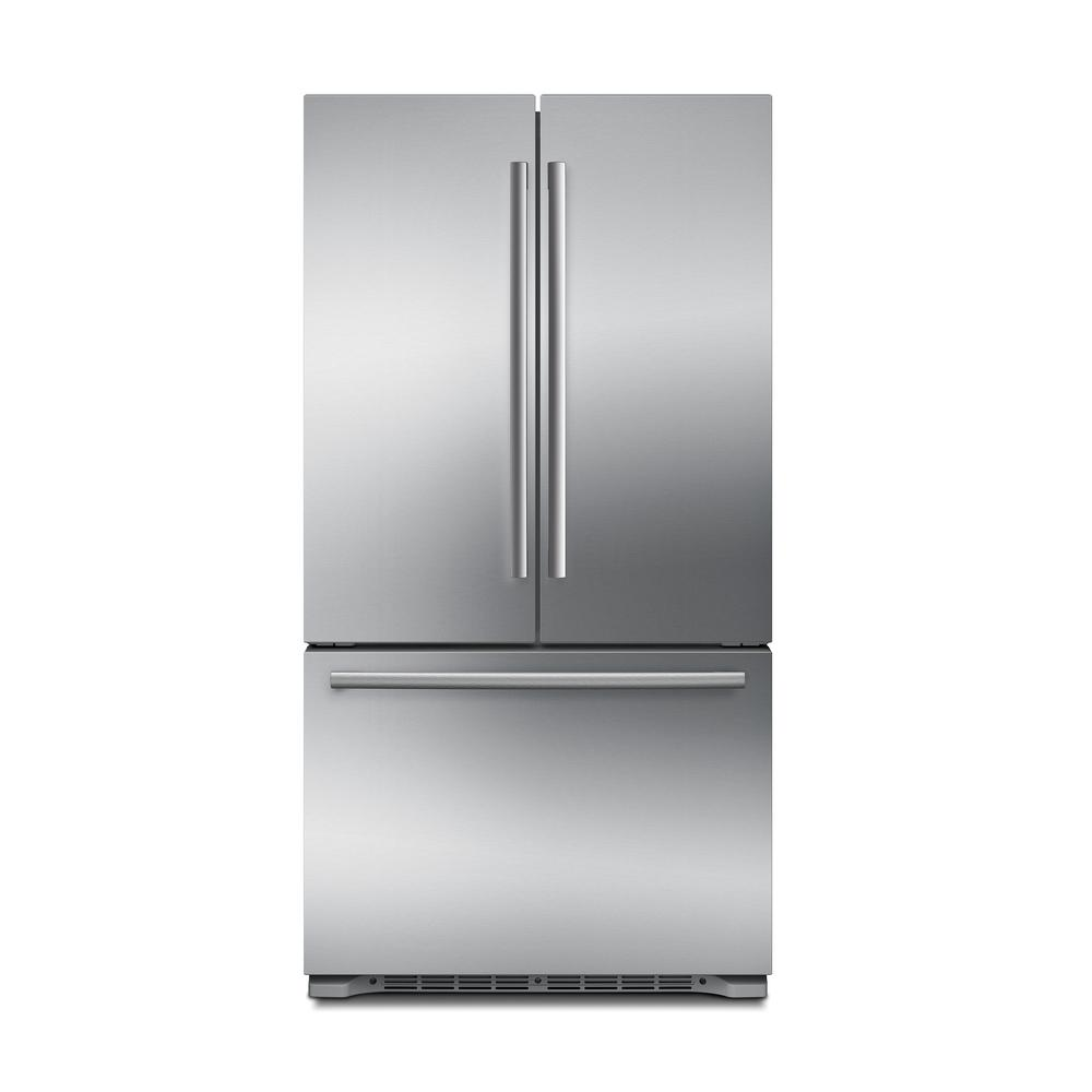 Bosch 800 Series 36 In. 20.7 Cu. Ft. French Door Refrigerator In Stainless