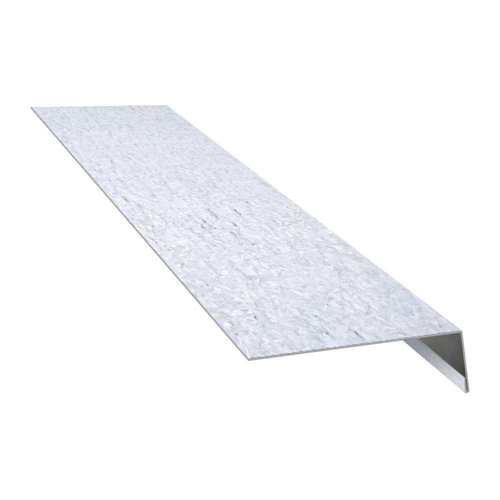 Construction Metals 3 In X 1 In X 10 Ft Galvanized