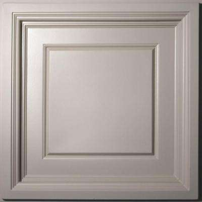 Madison Latte 2 ft. x 2 ft. Lay-in Coffered Ceiling Panel (Case of 6)