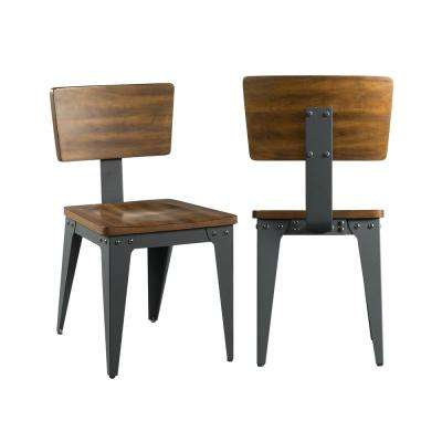 Beckett Light Brown Dining Chari (Set of 2)