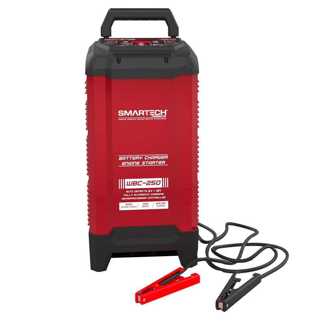 Smartech Products WBC-250 6-Volt/12-Volt Wheel Automotive Battery Charger, Maintainer was $179.98 now $124.98 (31.0% off)