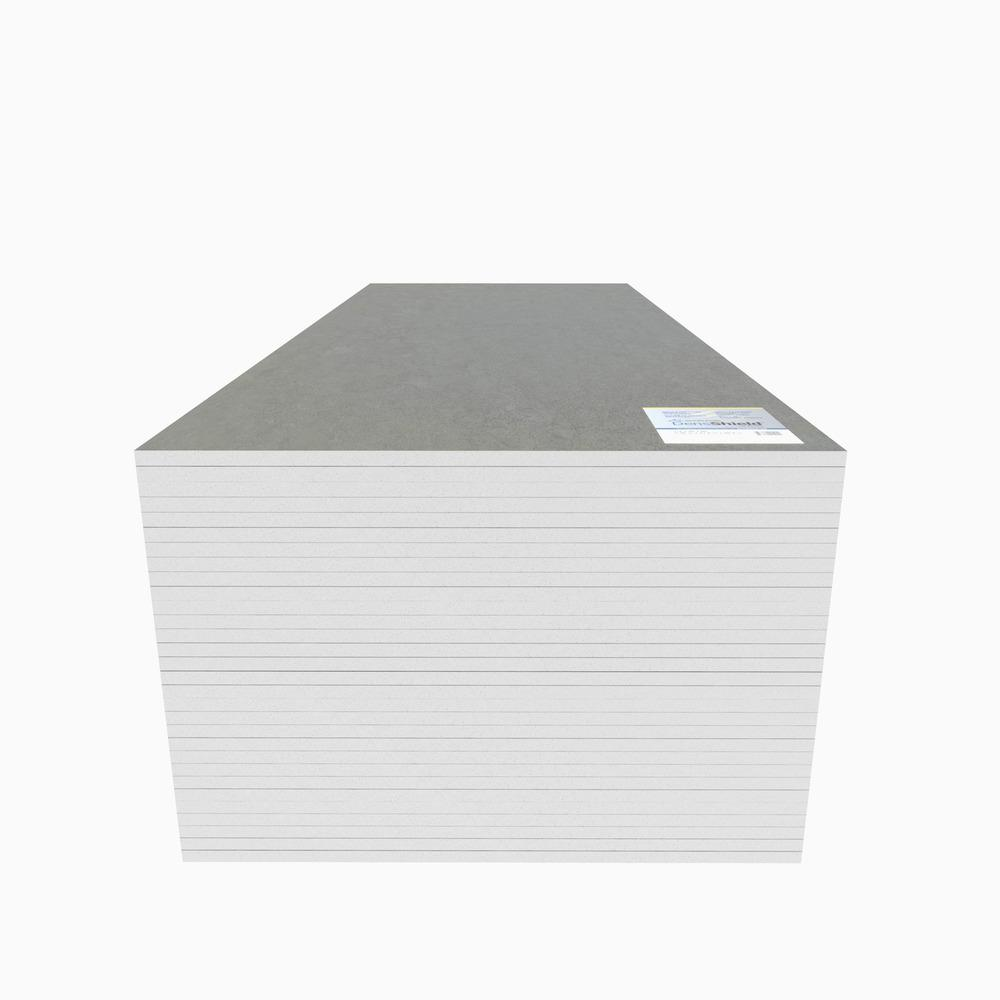 Densshield Gypsum Backer Board 1 2 In X 2 7 Ft X 5 Ft Tile Backer 008590 The Home Depot