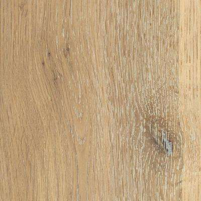 Take Home Sample - Wire Brushed Windcrest Oak Hardwood Flooring - 5 in. x 7 in.