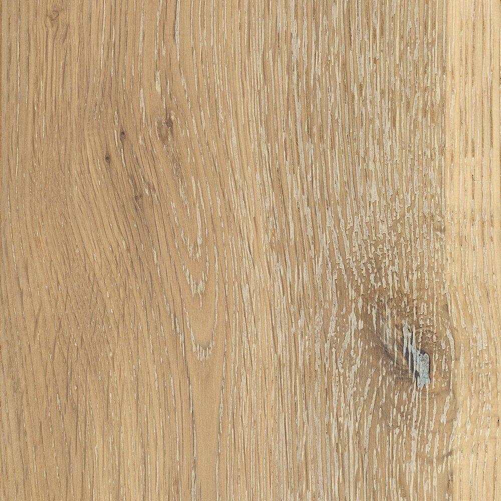Home Legend Take Home Sample - Wire Brushed Windcrest Oak Hardwood Flooring - 5 in. x 7 in.
