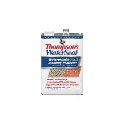 1 gal. Clear Waterproofer Plus Masonry (4-Pack)