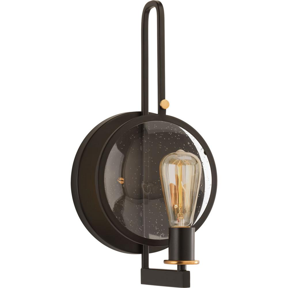 Looking Glass Collection 1-Light Antique Bronze Wall Sconce