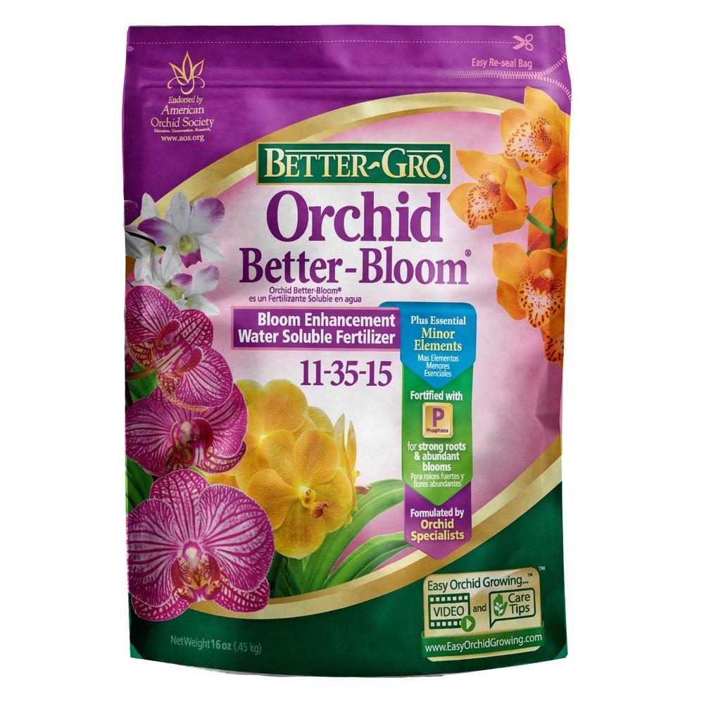 Better Gro 16 Oz Orchid Better Bloom Booster Plant Food 83050