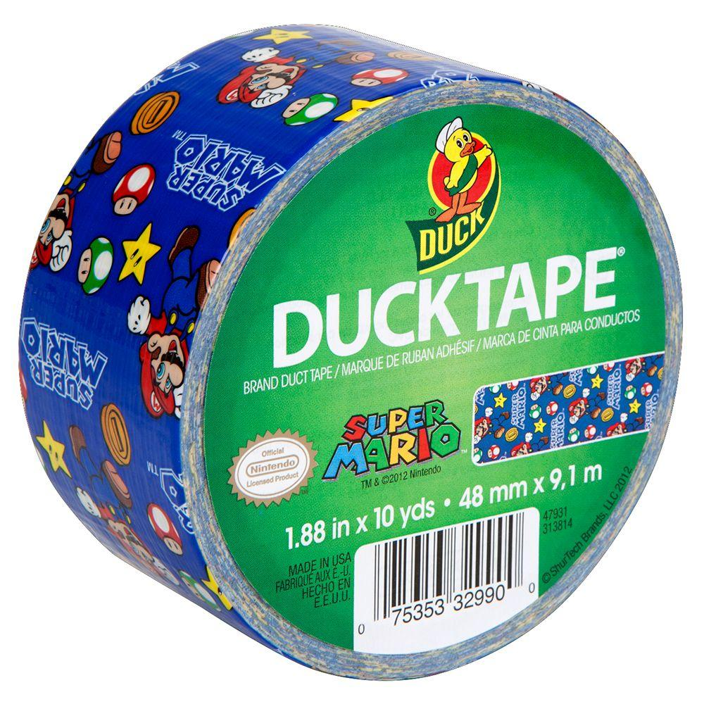 Duck 1.88 in. x 10 yds. Super Mario Duct Tape