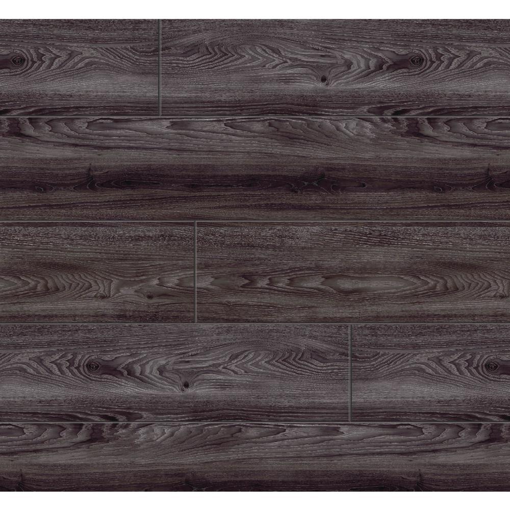 Black Oak 7.5 in. W x 47.6 in. L Luxury Vinyl Plank Flooring (24.74 sq. ft.)