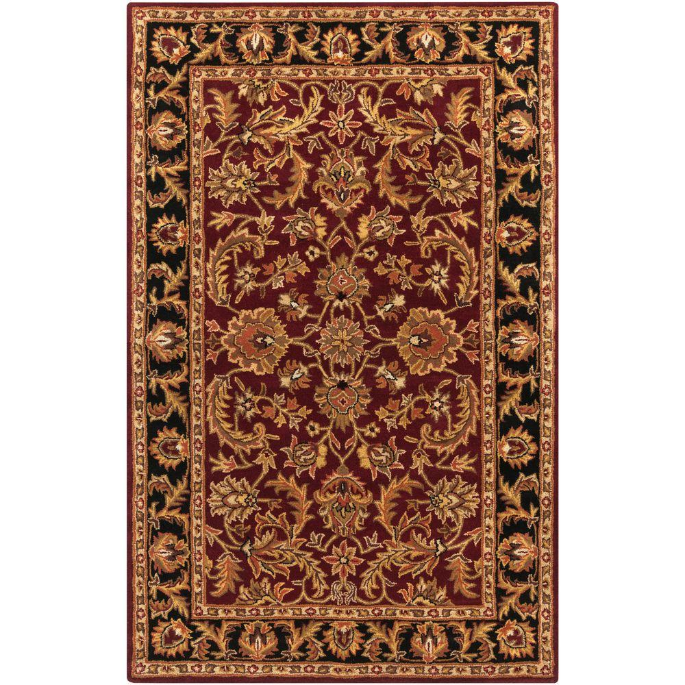 Middleton Virginia Burgundy 8 ft. x 11 ft. Indoor Area Rug