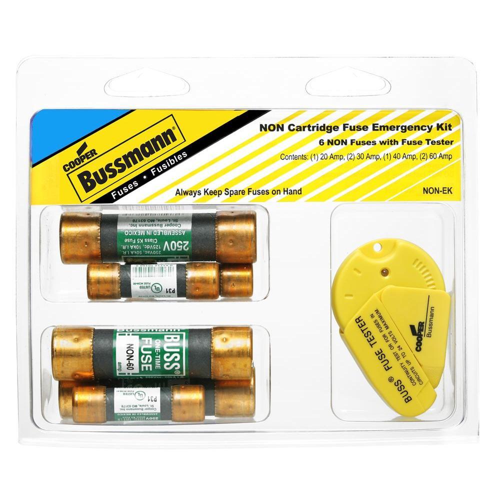 Cooper Bussmann NON Series Emergency Cartridge-Fuse Kit