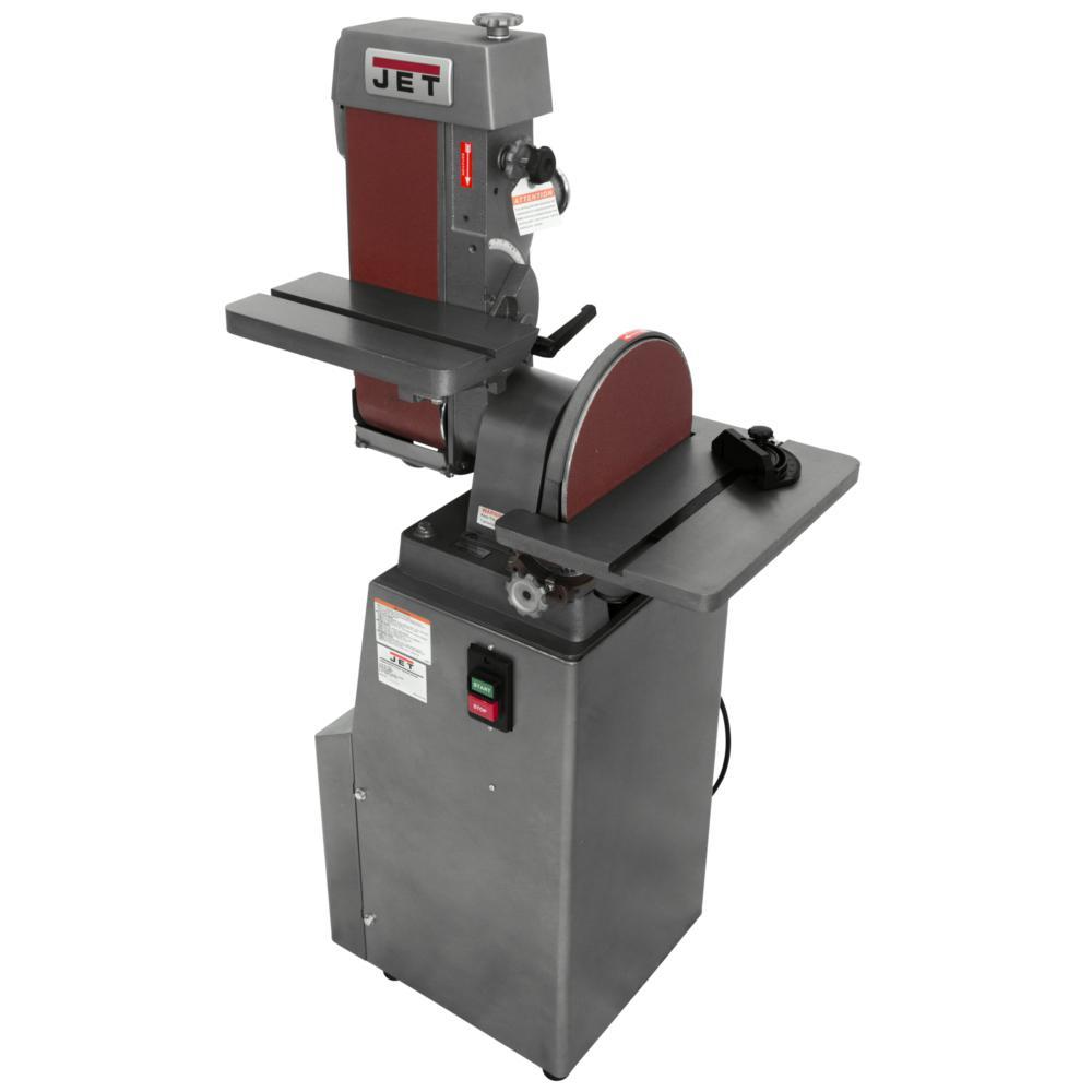 JET 414551 J-4200A Industrial Belt and Disc Finishing Sander