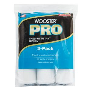 9 in. x 3/8 in. High-Density Pro Woven Roller Cover (3-Pack)