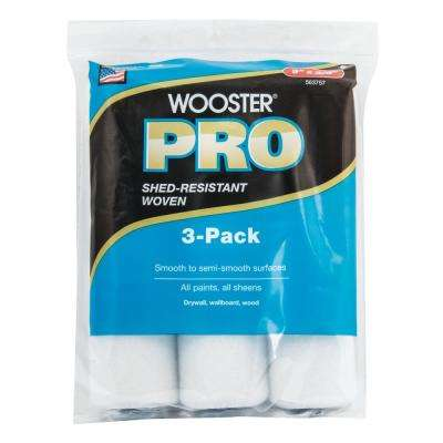 9 in. x 3/8 in. High Density Woven Roller Cover (3-Pack)