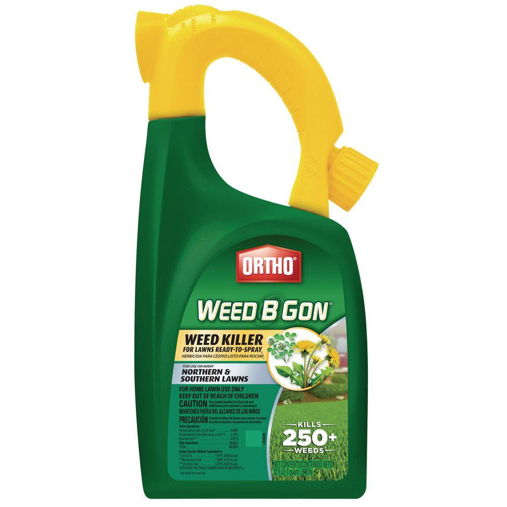 Ortho Weed B Gon 32 Oz Ready To Spray Weed Killer 0410005 The