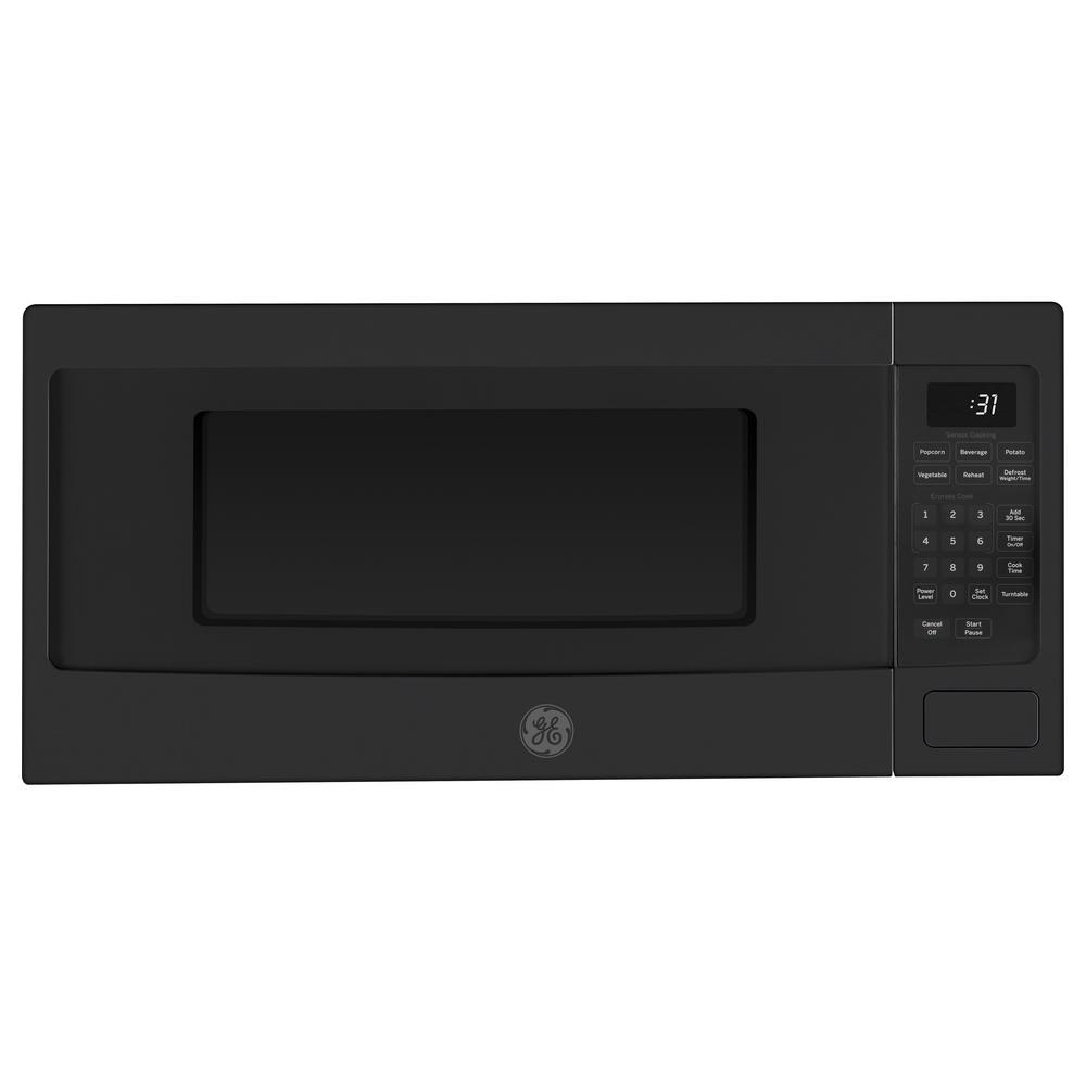 Profile Series 1.1 cu. ft. Countertop Microwave Oven in Black Slate,