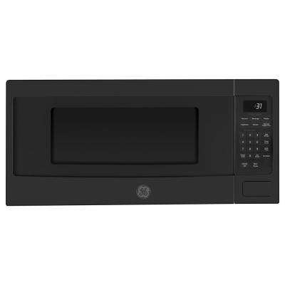 Profile 1.1 cu. ft. Countertop Microwave in Black Slate with Sensor Cooking, Fingerprint Resistant