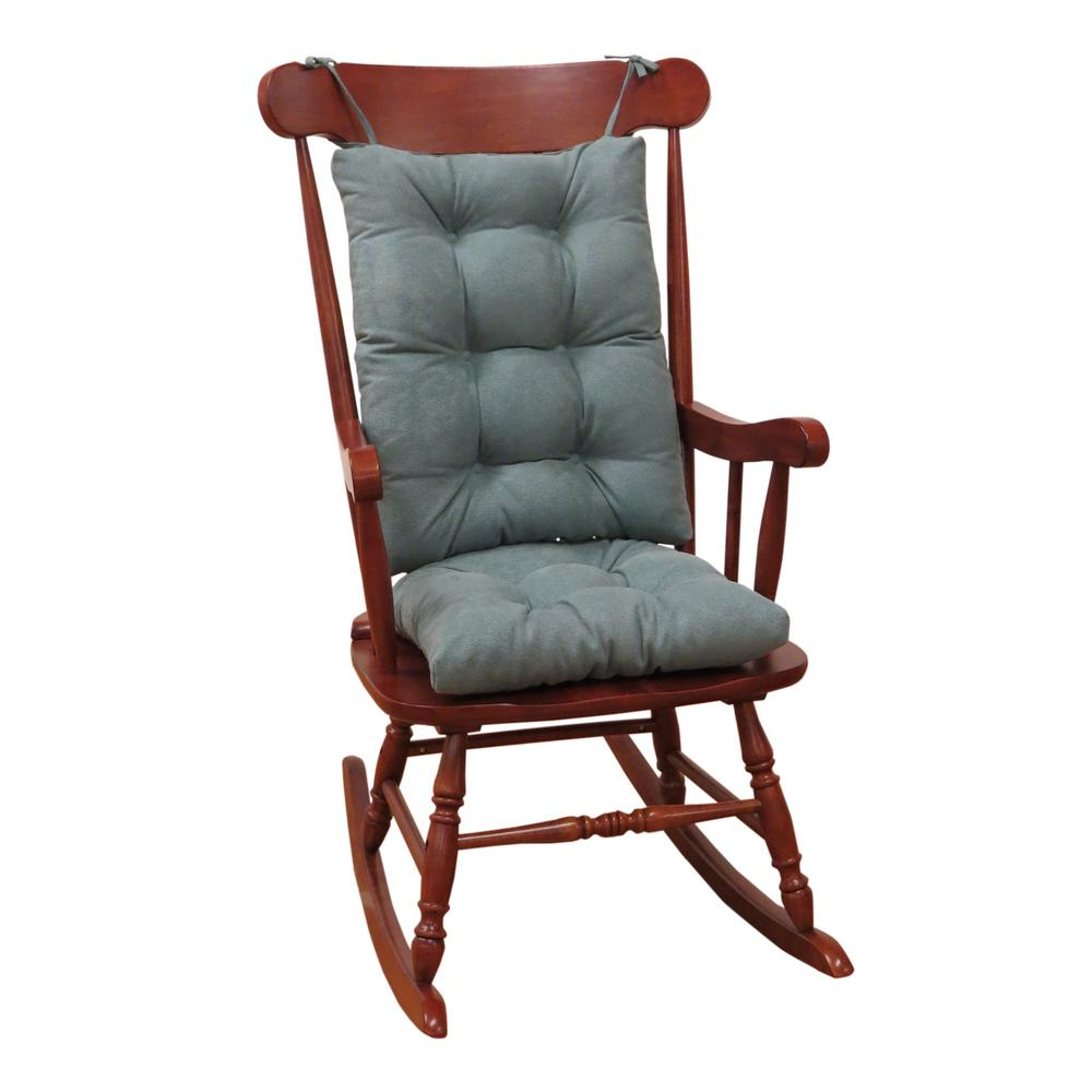 Klear Vu Gripper Twillo Marine Jumbo Rocking Chair Cushion Set