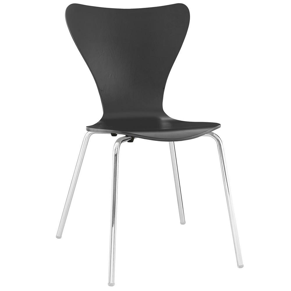 MODWAY Ernie Black Dining Side Chair EEI-537-BLK