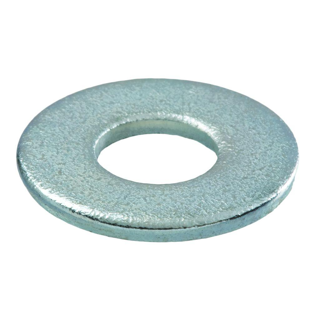 Everbilt 7/16 in. Zinc-Plated Flat Washer (8-Pack)