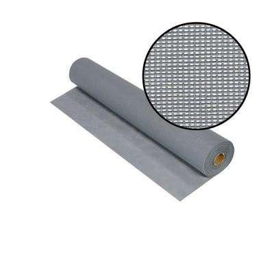 36 in. x 100 ft. Silvergray Solar Insect Screen