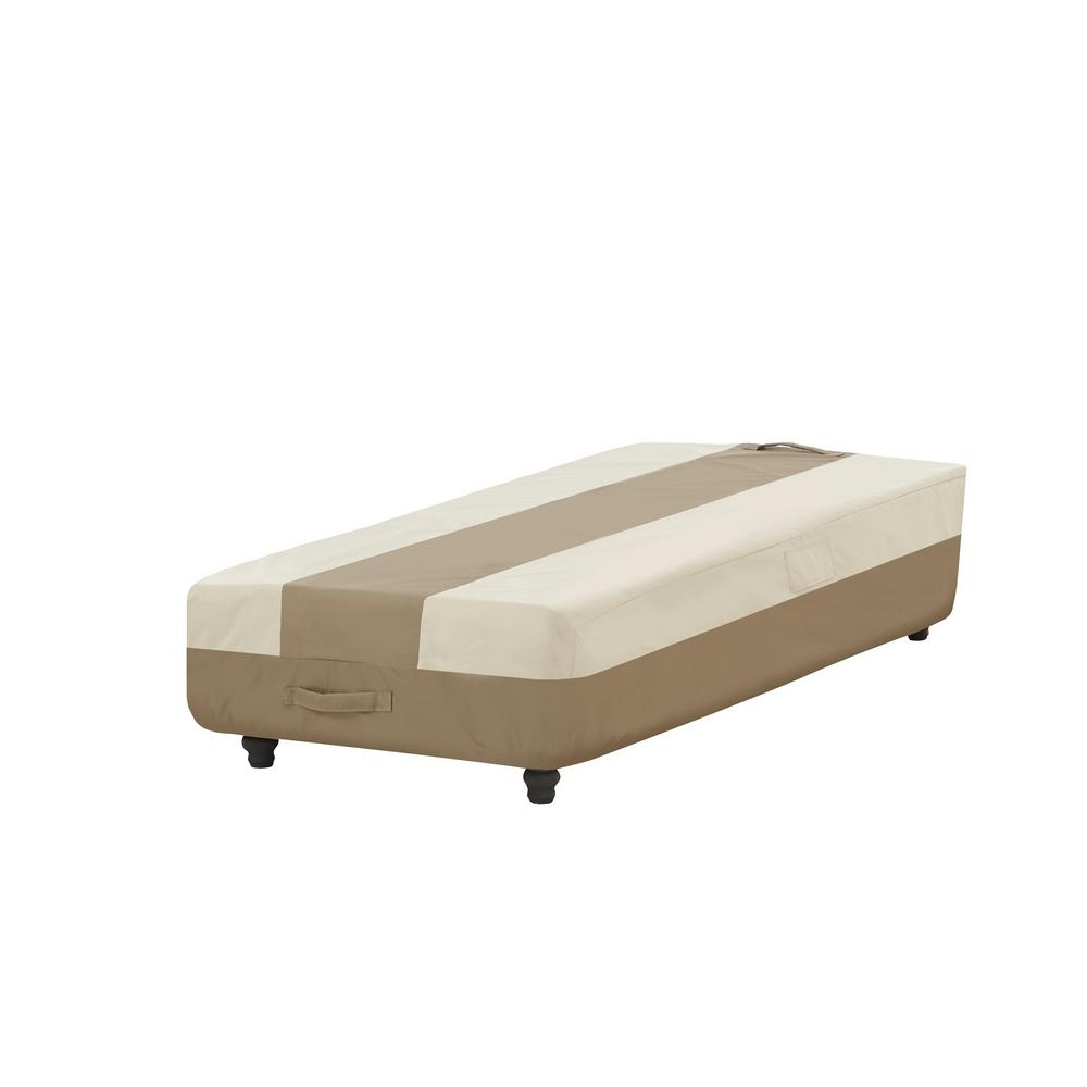 Hampton Bay Patio Chaise Cover 628330 C The Home Depot