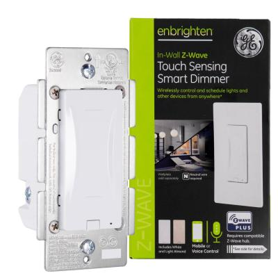 Enbrighten Z-Wave Plus In-Wall Touch Sensing Smart Dimmer