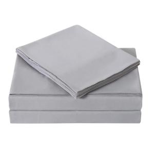 Everyday Grey Twin XL Sheet Set