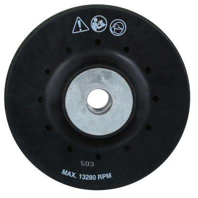 4-1/2 in. x 5/8 in. 50-Grit Grinder/Sander Conversion Kit