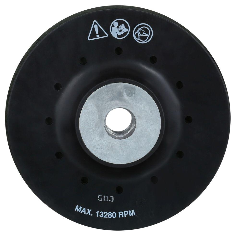 7 in Pad Diameter Disc Backing Pad 2 Units 5//8-11 in Thread Size
